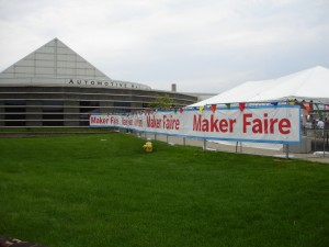 Maker Faire Entrance