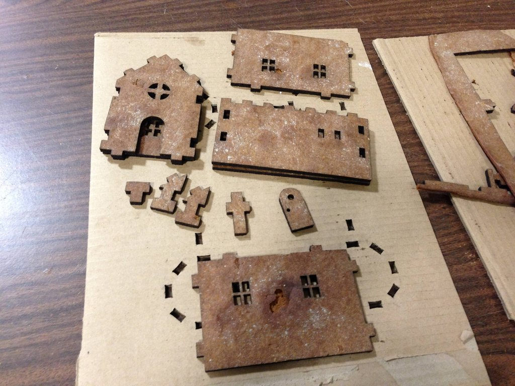 Sector67 Laser Cut Gingerbread Houses | Sector67