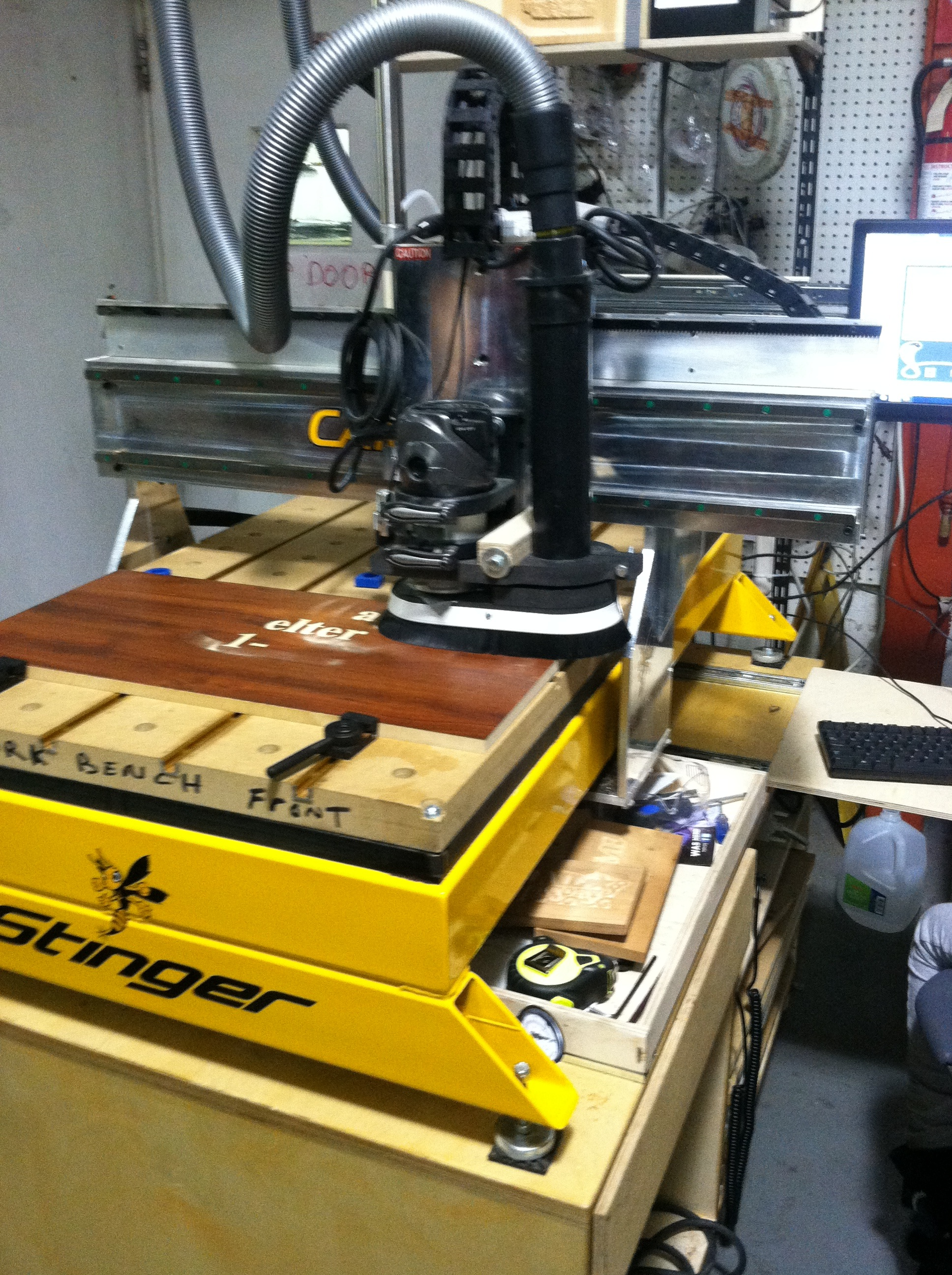 November Updates - CNC Wood Router | Sector67
