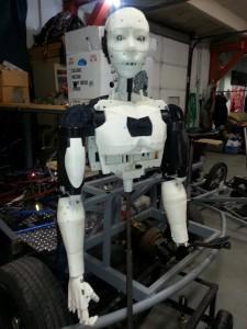 Jesse's 3D printed Humanoid