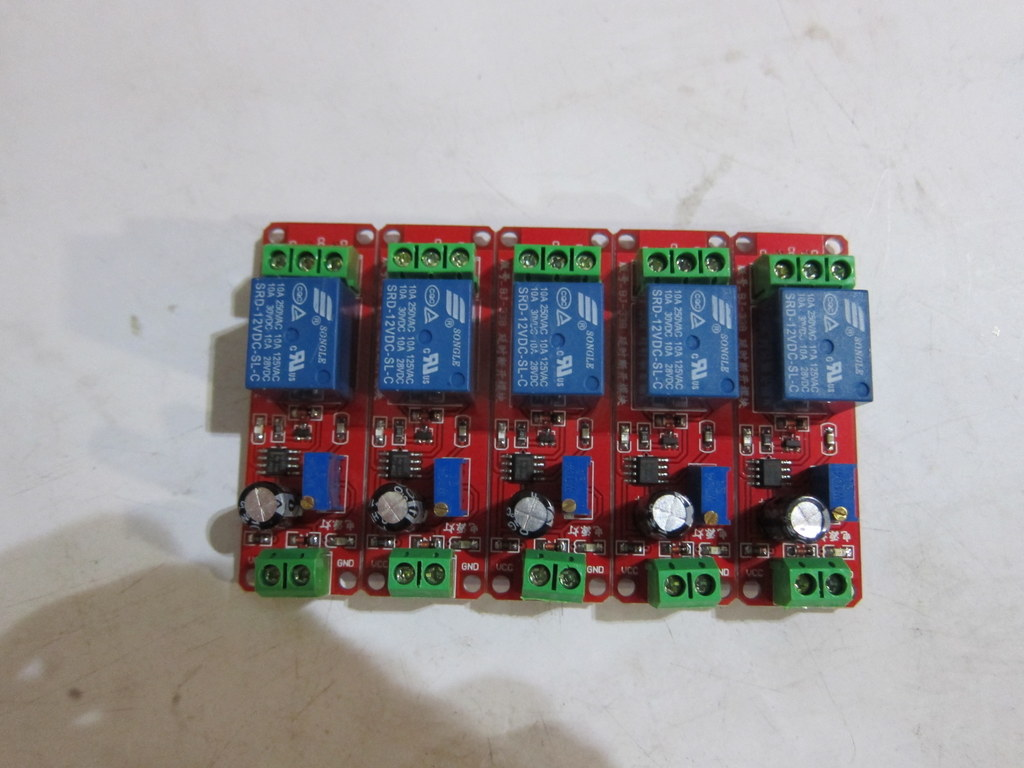 12v Delay Adjustable Timer Relay Switch Module 0 10 Second Ne555 Toggle Circuit Using A 555 Oscillator