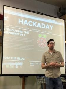 ob's Hackaday presentation