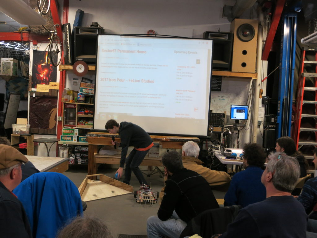 Sector67 Madison Wi Hackerspace Laser Cutting Circuit Board Mockups Makespace Joe Comically Yet Thoroughly Told Us About An Early Model Of The Unitek Miyachi Cutter That Is Able To Cut Thin Metals